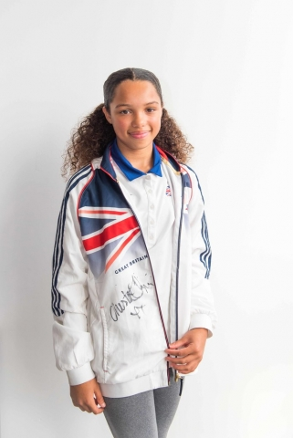Young athlete from Newham