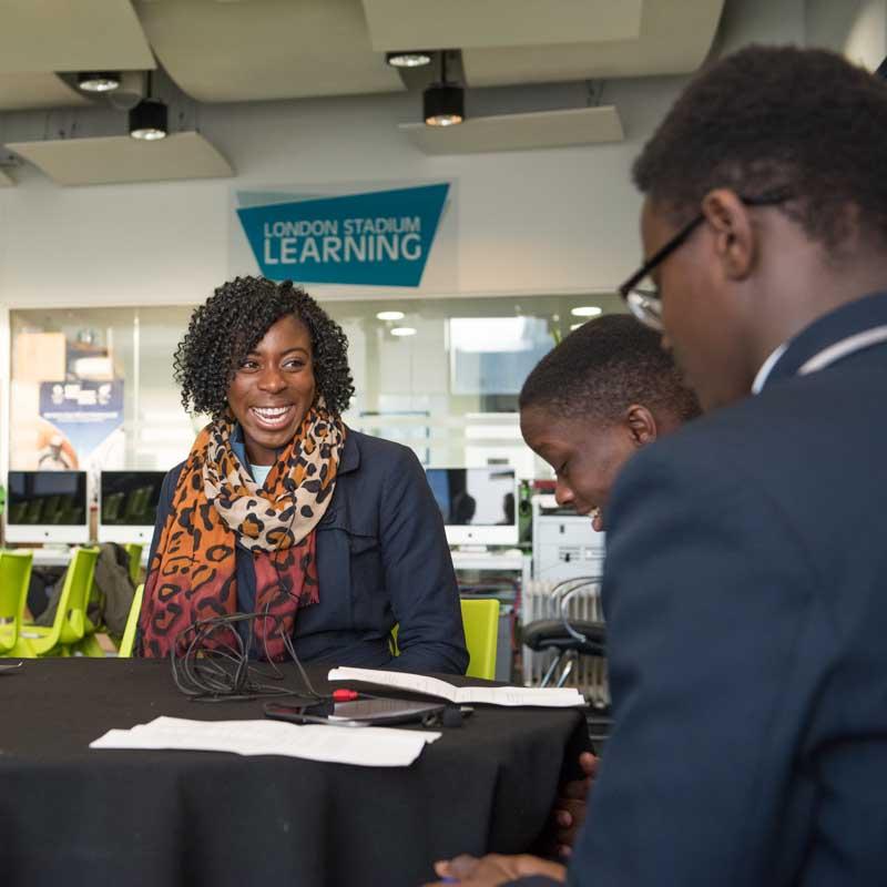 Interviewing Christine Ohuruogu