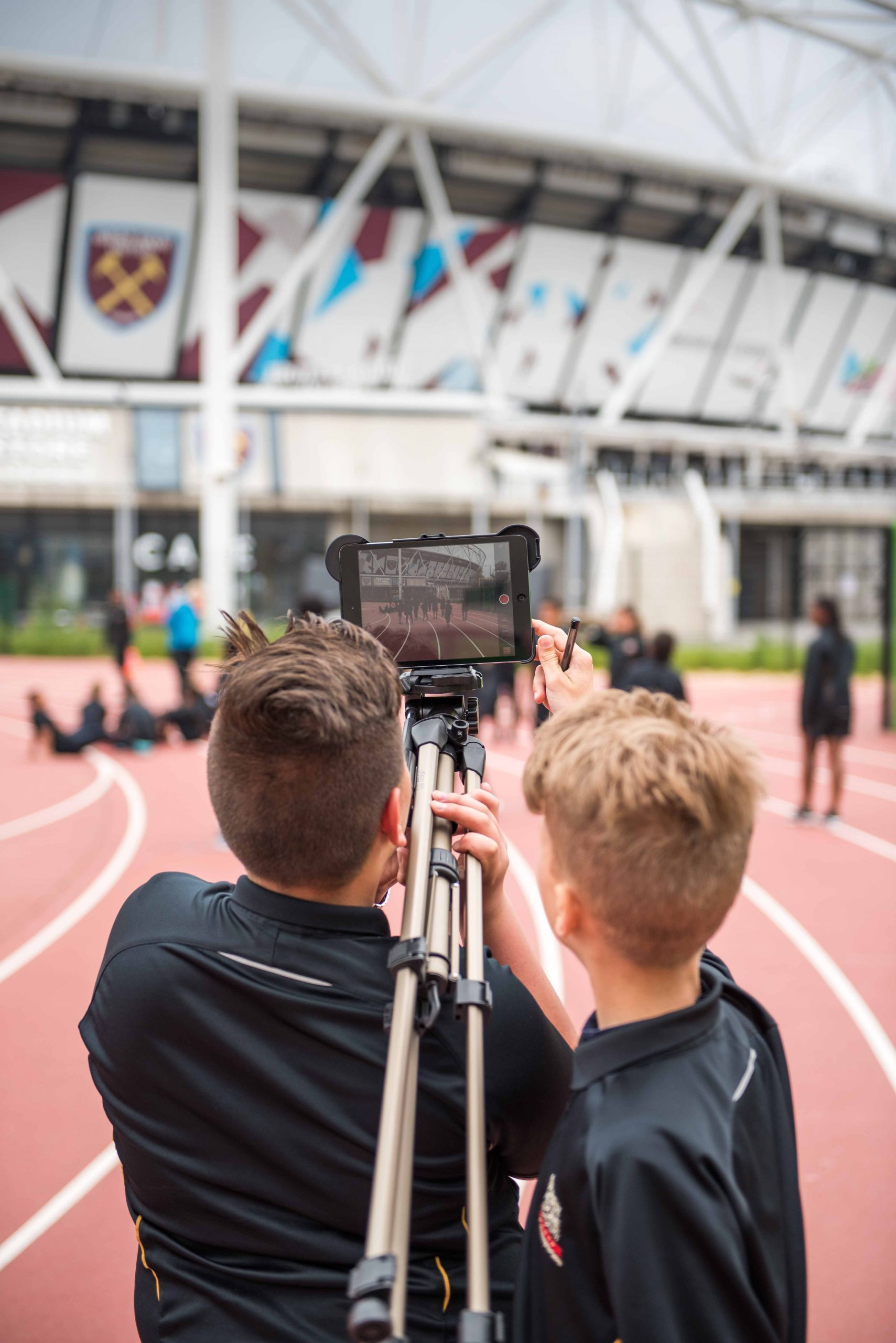 Sports-Day Filming