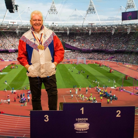 Robbie Barrett - Paralympian