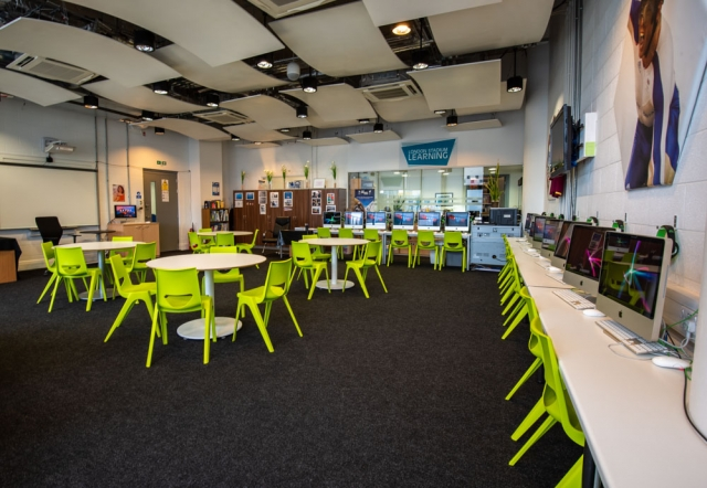 Classroom at London Stadium Learning